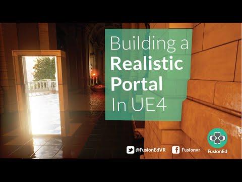 UE4 VR Tutorial: How To Build A Seamless Unreal Portal Door