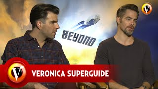 Superguide interviewt de cast van Star Trek Beyond