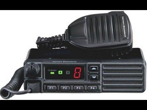 Обзор радиостанции Vertex VX-231 - YouTube