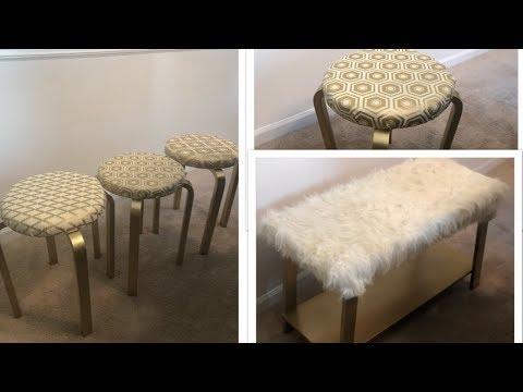 Dazzling Designs By Denise    💕Furniture Makeovers    Glam Edition 💕