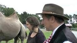 Schäfer Heinrich und Freundin Sabrina zu Besuch im Safaripark Stukenbrock
