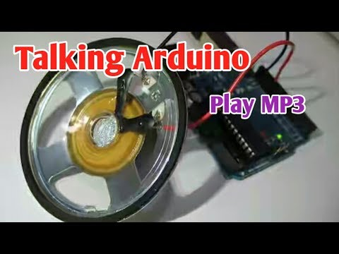 Talking Arduino | Playing MP3 Audio With Arduino | Arduino PCM Audio Without Audio Or Mp3 Module