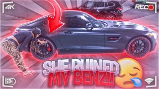 SHE CRASHED MY MERCEDES-BENZ AMG GT!!!
