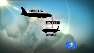 Dos aviones se libraron de chocar por un error en la torre de control