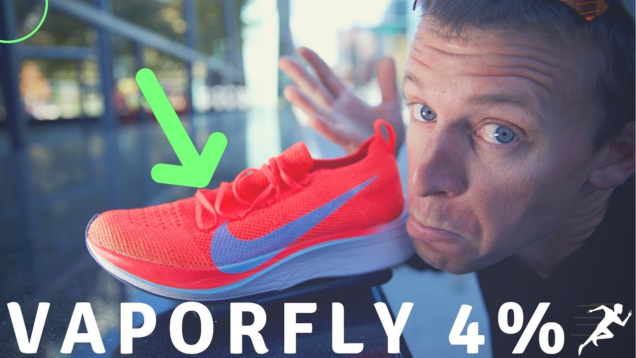 28009a63ca45 NIKE Vaporfly 4% Flyknit FULL Review   History