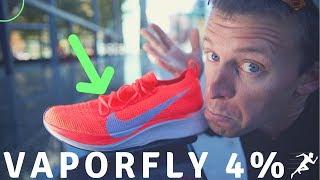 NIKE Vaporfly 4% Flyknit FULL Review & History   Running Shoe making runners faster?