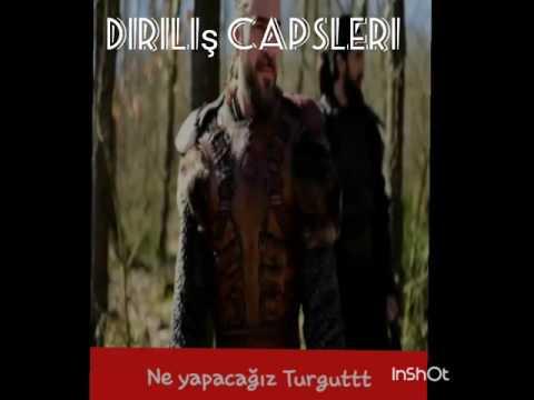 DİRİLİŞ ERTUĞRUL CAPSLERİ KOMİK!!