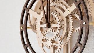 Wooden Pendulum Clock ~ 木の歯車で作る振り子時計【木時計工房】