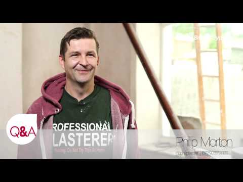 Gadget Gear Q&A on Signs of a good Plasterer