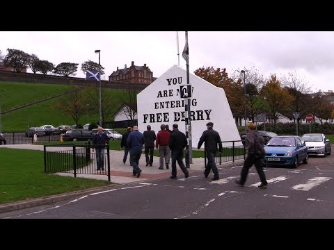 Veterans For Peace UK: A Different Kind of Tour - Derry