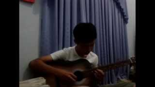 (Yiruma) When the love falls - Guitar solo
