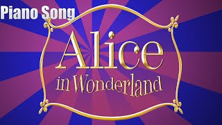 Alice in the Wonderland the Unbirthday Song piano