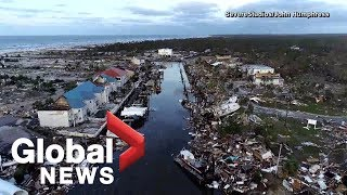 Hurricane Michael: Drone video captures destruction in Florida's Mexico Beach