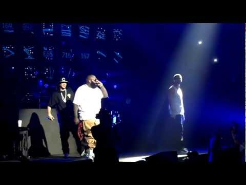 "DRAKE, RICK ROSS, MEEK MILL, FRENCH MONTANA ""Stay Schemin"" LIVE HOUSTON, TX 5/17/2012 TOYOTA CENTER!"
