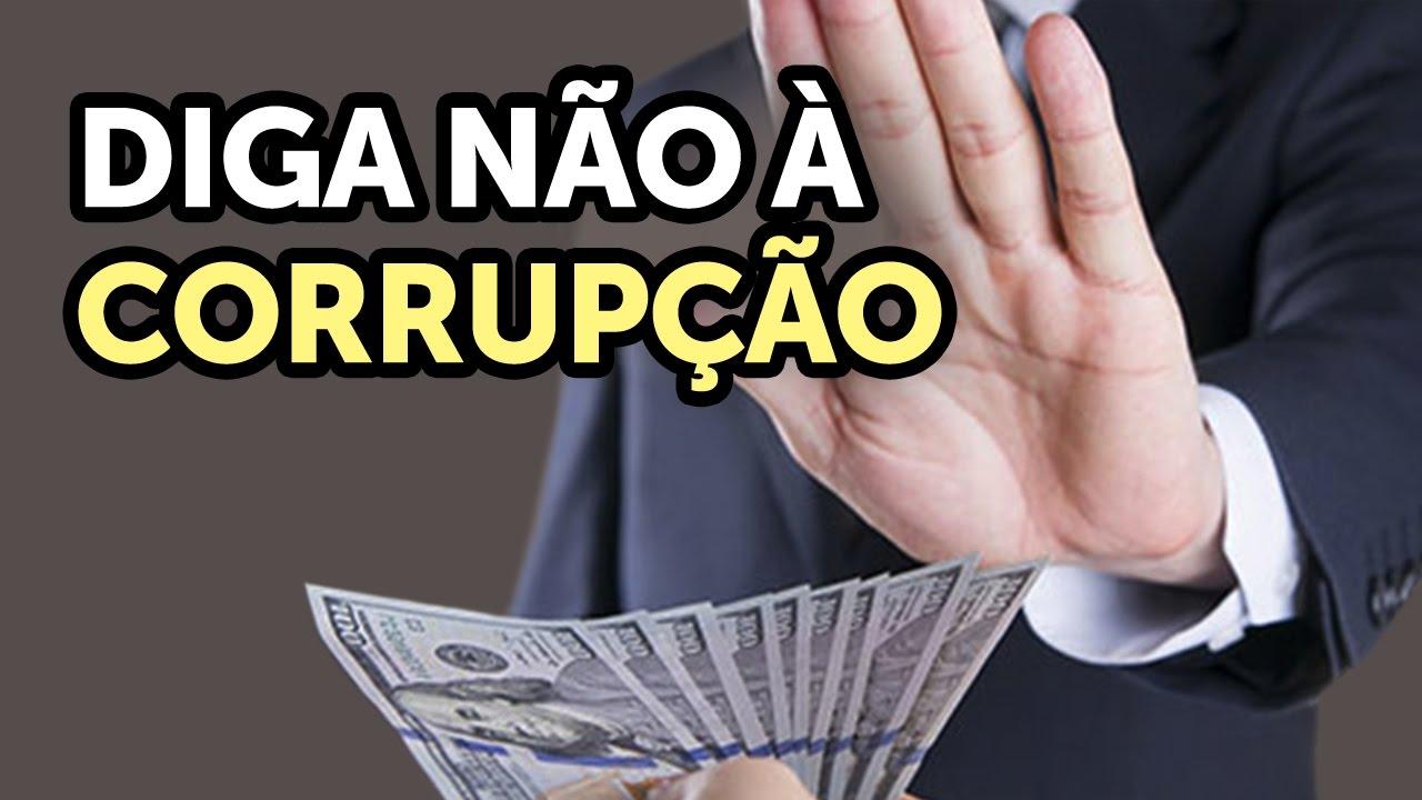 Diga não à corrupção