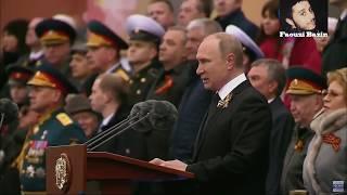كلمة الرئيس الروسي فلاديمير بوتين بمناسبة تأهل المنتخب المغربي لكأس العالم بروسيا 2018