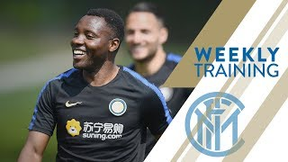 INTER vs EMPOLI | WEEKLY TRAINING | What a goal from Asamoah!