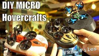 DIY Tiny Micro RC Hovercrafts!