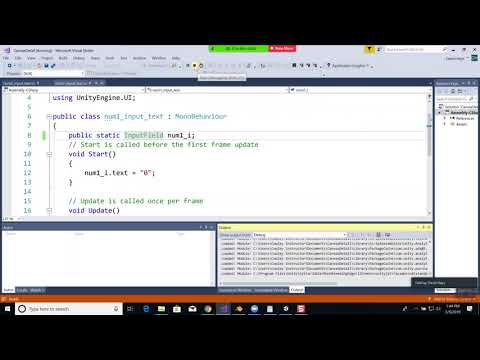 Virtual Reality Programming – Class Session – 3/5/2019