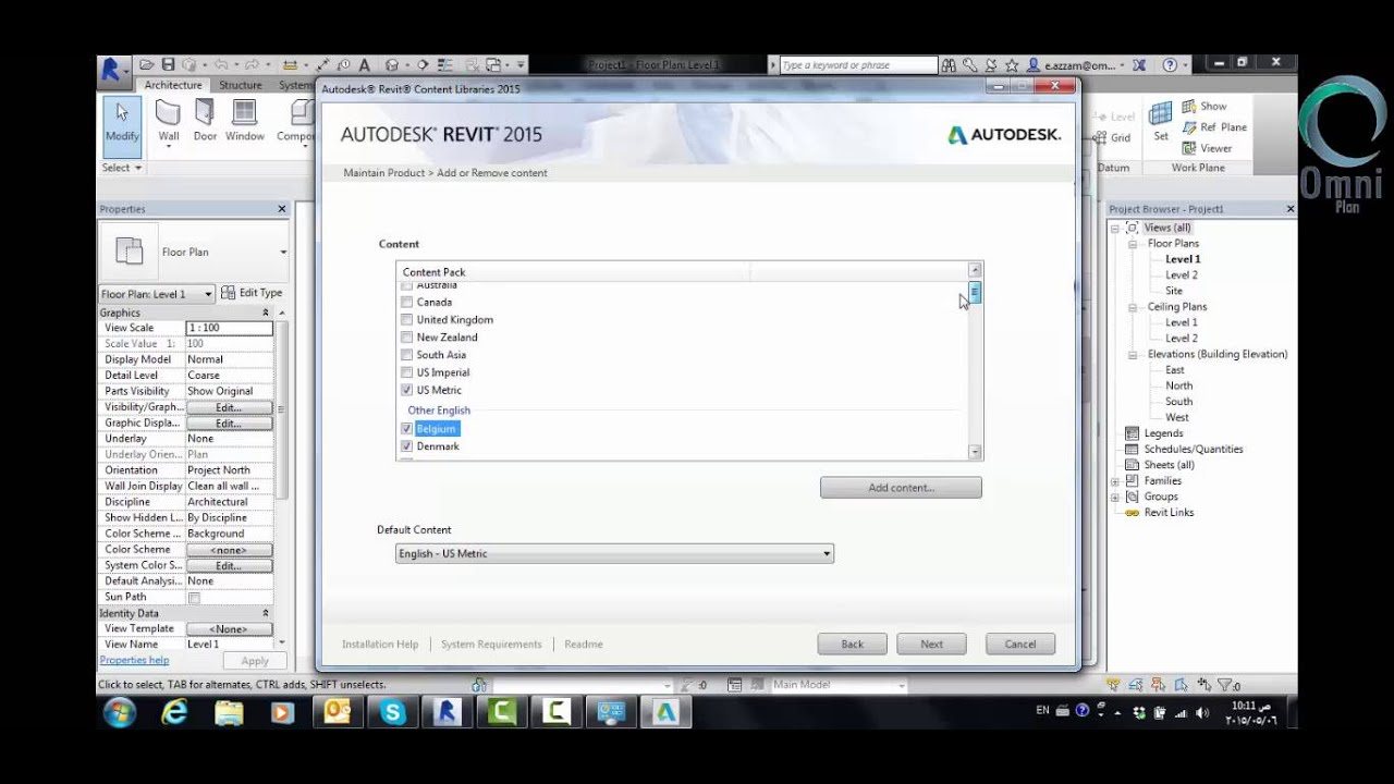 How to add library in Revit 2015 - YouTube