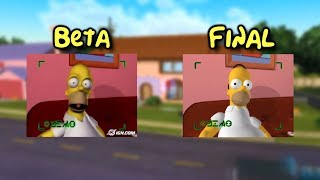 The Simpsons: Hit & Run - Game Introduction Comparison