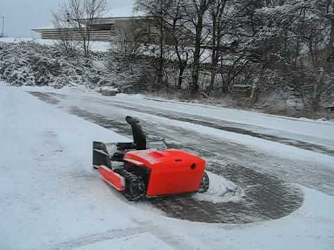 Dan Mower With Snowblower Quot Now With Remote Controller