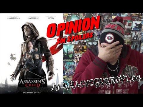 Assassin´s Creed La Pelicula Opinion/ Review/ Reseña/ Critica/ Analisis/ sin Spoilers/ no spoilers