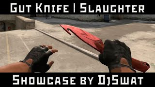 ★ Gut Knife | Slaughter [Нож с лезвием-крюком | Убийство]