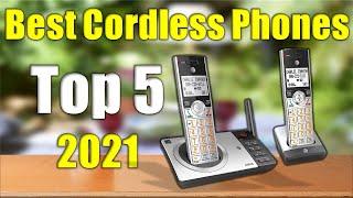 5 Cordless Phones Reviews : Best Cordless Phones 2021