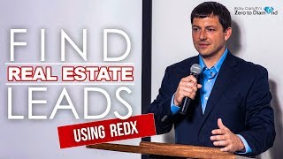 How to Find Real Estate Leads using REDX