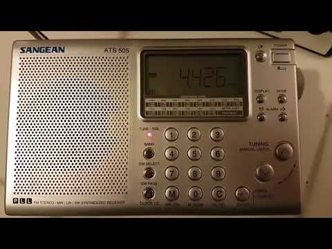 NMN Chesapeake Virginia coast guard marine weather 4426 Khz Shortwave