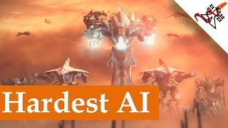 Etherium - Hardest AI vs SergiuHellDragoonHQ | Skirmish Gameplay
