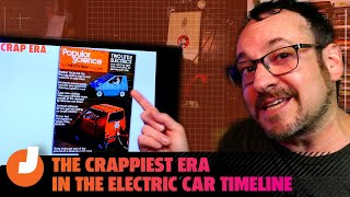 homepage tile video photo for The Crappiest Era In The Electric Car Timeline: EV Car Timeline Part 2