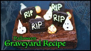 Tasty Halloween Graveyard Cake Recipe - PERFECT for Children's Parties