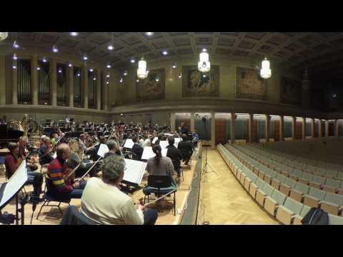 Herkulessaal: 360° Violine tutti - Position