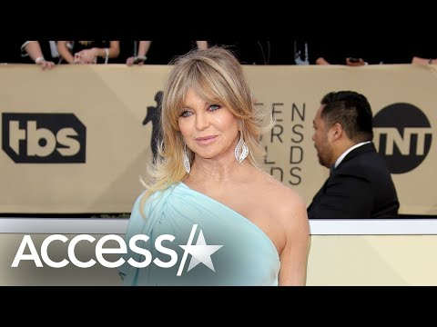 Goldie Hawn On Her Past Battle w/ Depression