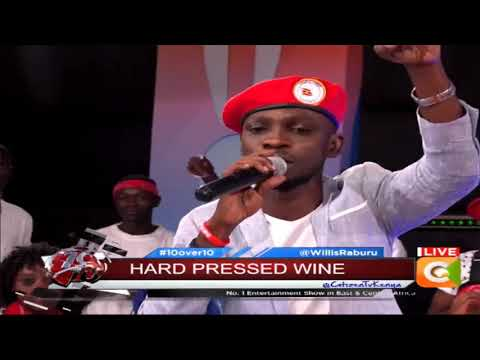 Bobi Wine the Musician Live #10Over10