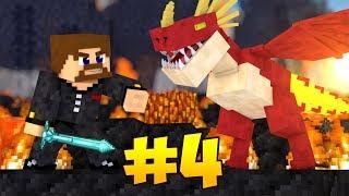 НОВОЕ ПУТЕШЕСТВИЕ #4 - Я НАШЕЛ ДРАКОНА! ИССЛЕДУЕМ ДАНЖ - Minecraft