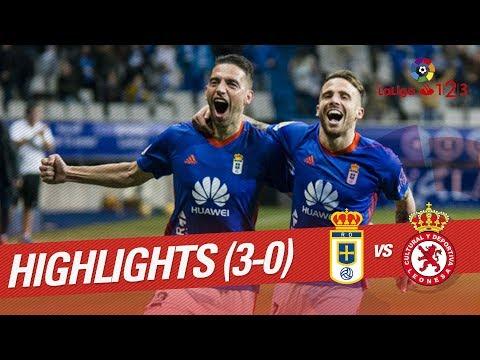Resumen de Real Oviedo vs Cultural Leonesa (3-0)