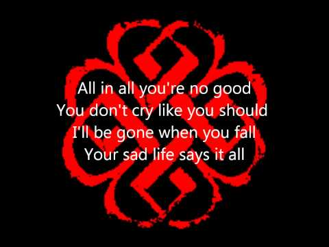 What Lies Beneath by Breaking Benjamin (Lyrics on screen)