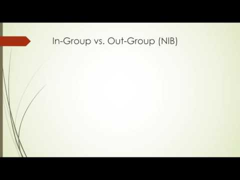 SPCH 1318 - Ch. 2: Ethnocentrism & In-Group/Out-Group