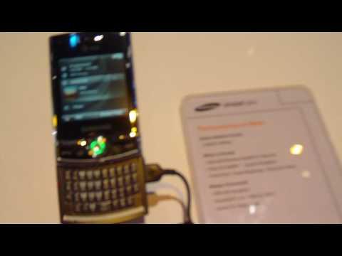 Samsung Propel Pro - CTIA 2009
