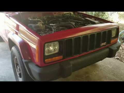 1997 Jeep Cherokee Xj A C Replacement Ac Compressor Condenser Accumulator Line W Orifice Tube Youtube