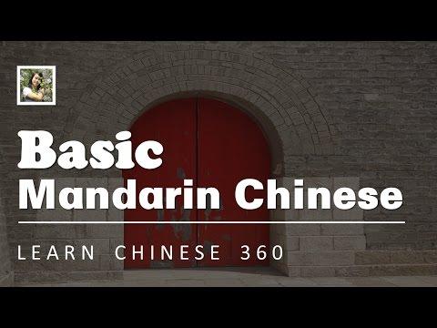 Basic Mandarin Chinese.