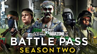 Black Ops Cold War: Everything In The Season 2 Battle Pass! (Warzone Battle Pass)