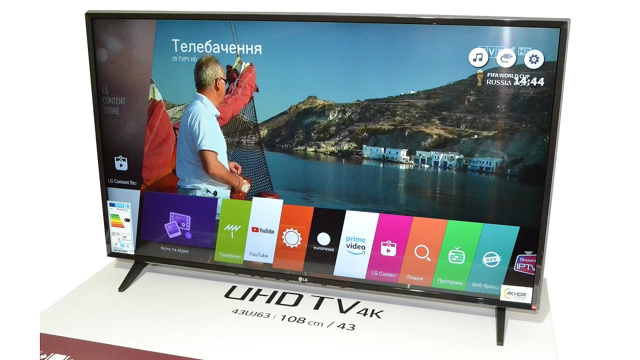 LG 32LJ510B видео обзор Интернет магазина