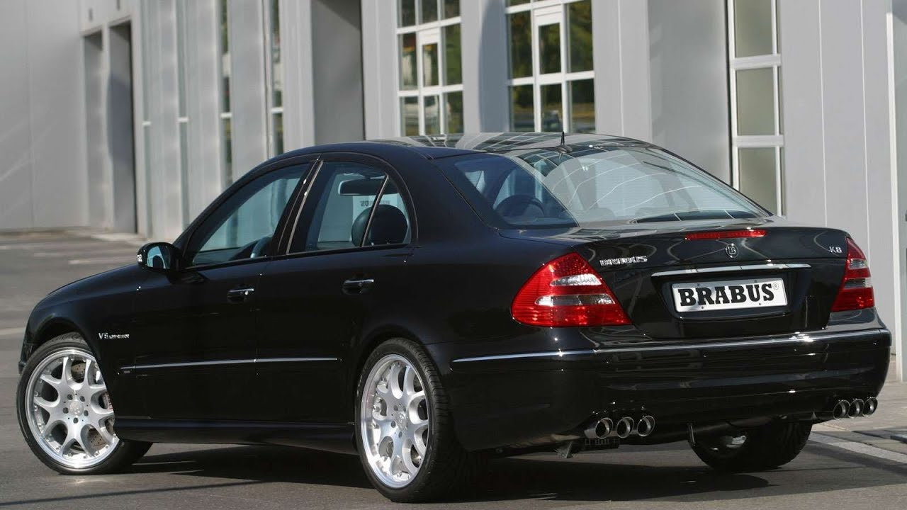 brabus mercedes benz e class 2003 youtube. Black Bedroom Furniture Sets. Home Design Ideas