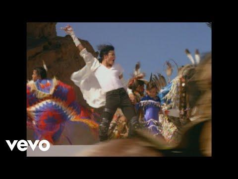Michael Jackson - Black Or White (Official Video - Shortened Version)