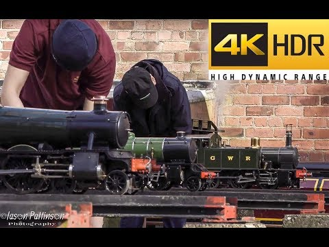 Sale Area Model Engineering Society Sunday Running in 4K