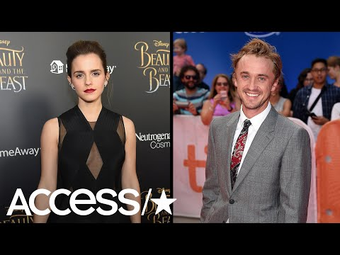 Emma Watson Reunites With 'Harry Potter' CoStar Tom Felton & We're Living For It!  Access